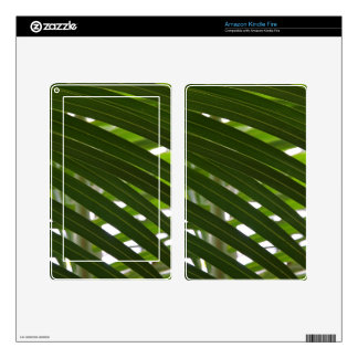 Amazon Kindle Fire Skin - Spindle Palm