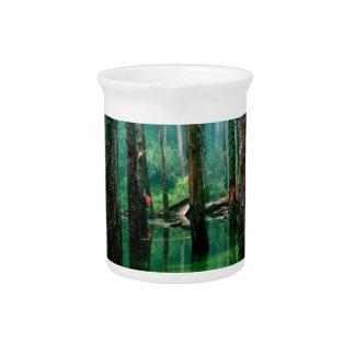 Amazon Marsh Beverage Pitcher