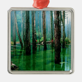Amazon Marsh Metal Ornament