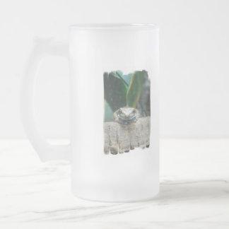 Amazon Milk Frog Frosted Beer Mug