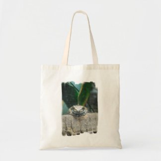 Amazon Milk Frog  Grocery Tote Bags