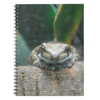 Amazon Milk Frog Notebook