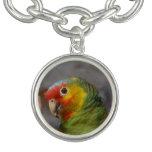 Amazon Parrot Charm Bracelet