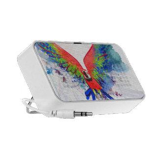Amazon Parrot Macaw iPod Speaker