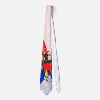 Amazon Parrot Macaw Neck Tie
