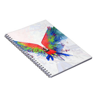 Amazon Parrot Macaw Notebooks