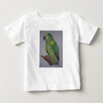 Amazon Parrot watercolor T-shirt