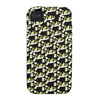 Amazon Puffer fish pattern in black iPhone 4 Cover