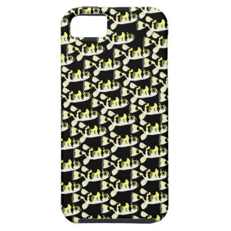 Amazon Puffer fish pattern in black iPhone 5 Cover