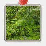 Amazon Rainforest, Amazonia, Brazil Square Metal Christmas Ornament
