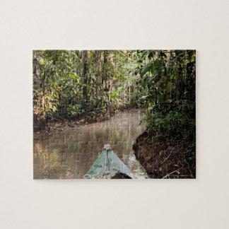 Amazon Rainforest, Puerto Maldanado, Peru. Jigsaw Puzzle