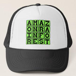 Amazon Rainforest, South American Forest Trucker Hat