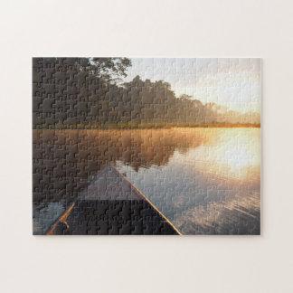 Amazon rainforest sunrise jigsaw jigsaw puzzle
