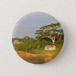 Amazon river bank pinback button