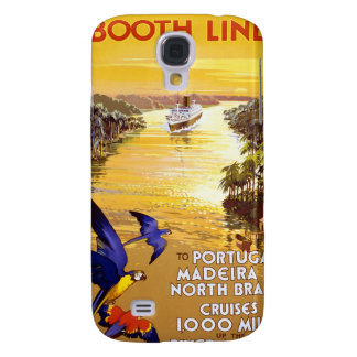Amazon River Booth Line Samsung Galaxy S4 Cover