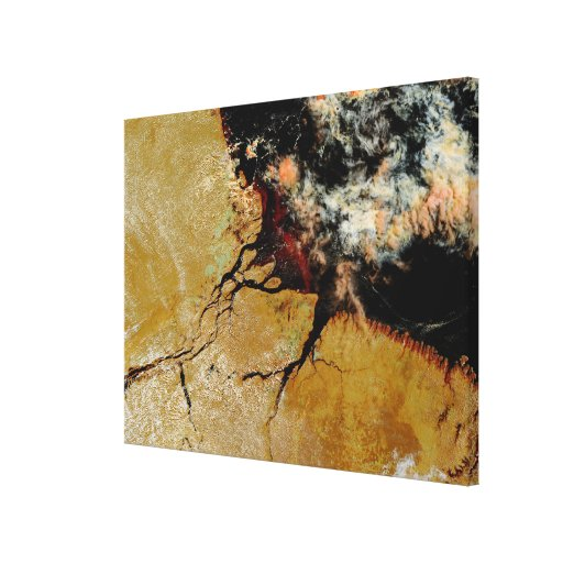 Amazon River in northern Brazil Gallery Wrap Canvas