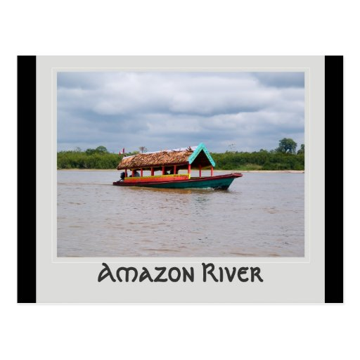Amazon River Postcard