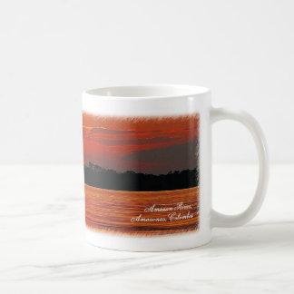 Amazon River Sunset Travel Mug