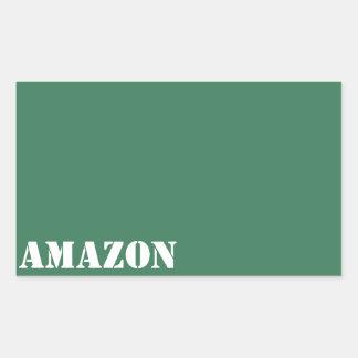 Amazon Rectangular Stickers