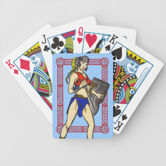 Amazon Warrior Woman Playing Cards