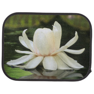Amazon Water Lily (Victoria Amazonica) Flower Car Mat