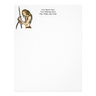 Amazon Women Courage Letterhead