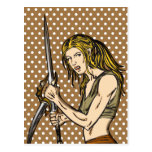 Amazon Women Courage Post Cards