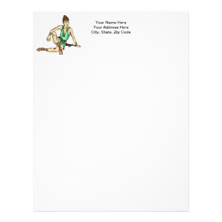 Amazon Women Fantasy Letterhead