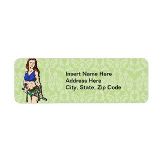 Amazon Women Myth Label