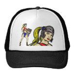 Amazon Women Soldiers Mesh Hats