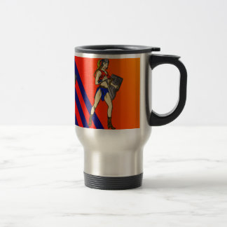 Amazon Women Soldiers Travel Mug