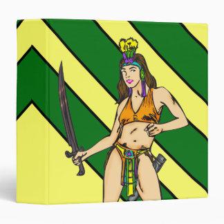 Amazon Women Warriors 3 Ring Binder