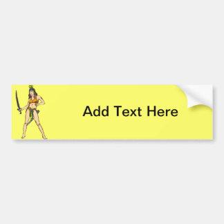 Amazon Women Warriors Bumper Sticker
