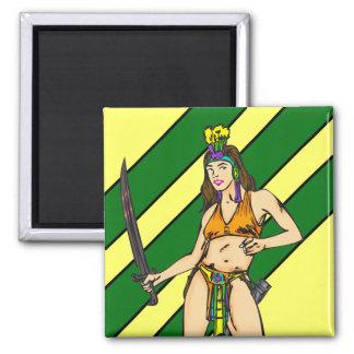 Amazon Women Warriors Magnets