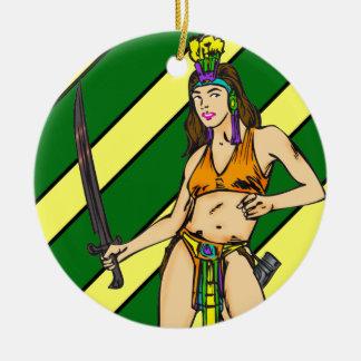 Amazon Women Warriors Ornament
