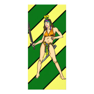 Amazon Women Warriors Rack Card
