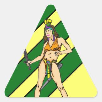 Amazon Women Warriors Stickers