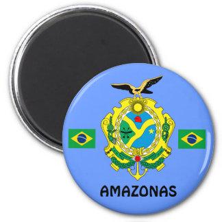 Amazonas, Brazil State Magnet Imå das Amazonas