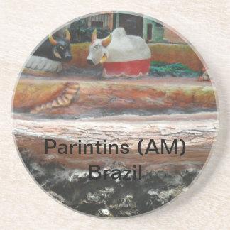 Amazonian folklore coasters