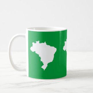 Amazonian Green Festive Brazil at Emporio Moffa Coffee Mug