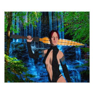 Amazonian Warrior Photo Print