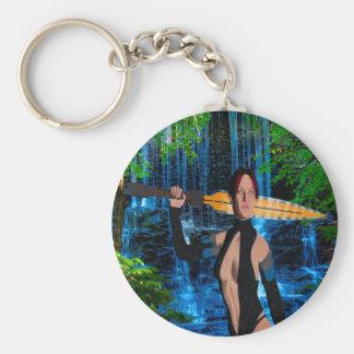 Amazonian Woman Keychain