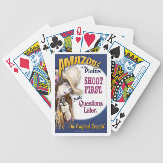 Amazons of the Plains U.S. Playing Cards. Bicycle Playing Cards