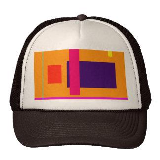 Ámbar decisivo simplista del diseño gorra