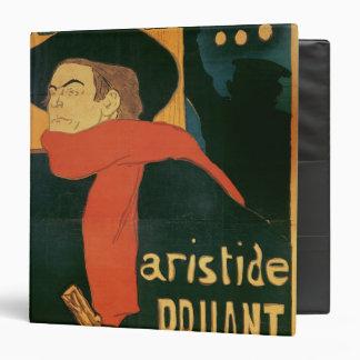 "Ambassadeurs: Aristide Bruant, 1892 Carpeta 1 1/2"""