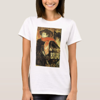 Ambassadeurs Aristide Bruant by Toulouse Lautrec T-Shirt