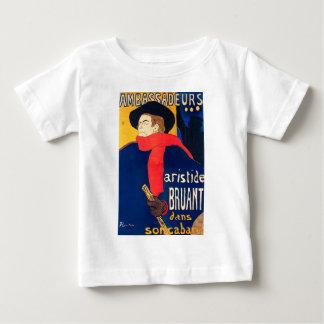 Ambassadeurs Aristide Bruant dans son Cabaret Baby T-Shirt