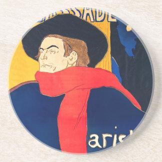 Ambassadeurs Aristide Bruant dans son Cabaret Drink Coaster