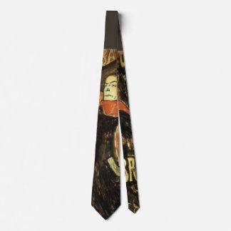 Ambassadeurs; Aristide Bruant por Toulouse Lautrec Corbata Personalizada