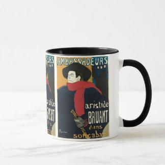 Ambassadeurs: Artistide Bruant by Toulouse Lautrec Mug